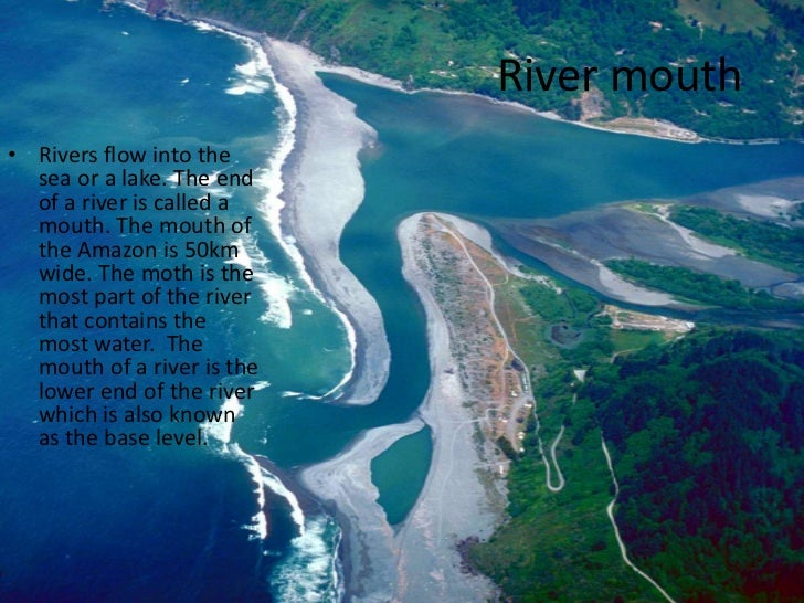 all rivers flow into the sea Rivers come in lots of different shapes and sizes, but they all have some things in common all rivers and streams start at some high point the high point can be a mountain, hill or other elevated area water from some source like a spring, snow melt or a lake starts at this high point and begins to flow down to lower points as the water.