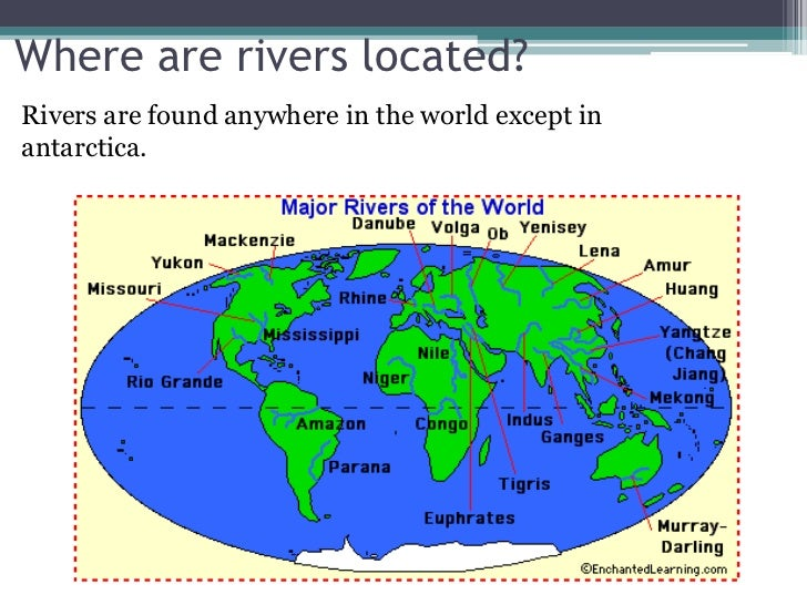 Rivers And Streams - 3 longest rivers in the world