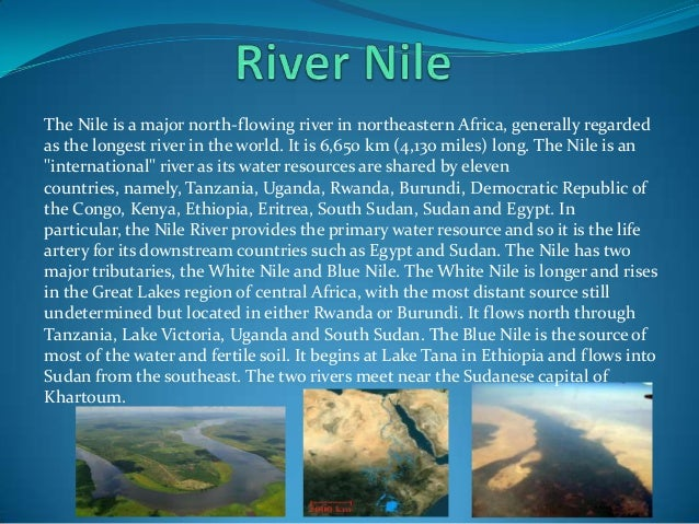 Rivers By Miguel Vella - 4 longest rivers in the world