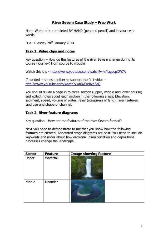 river rejuvenation instance study