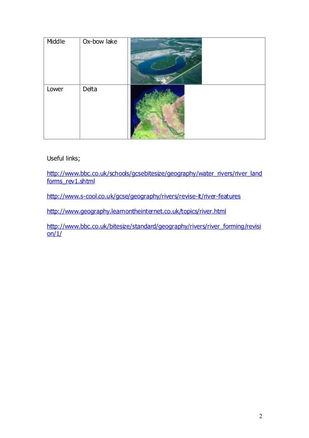 Colorado River management GCSE Geography Water World part ...
