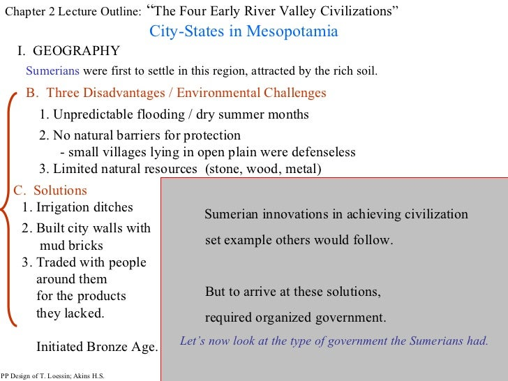 River Vally Civiliztions