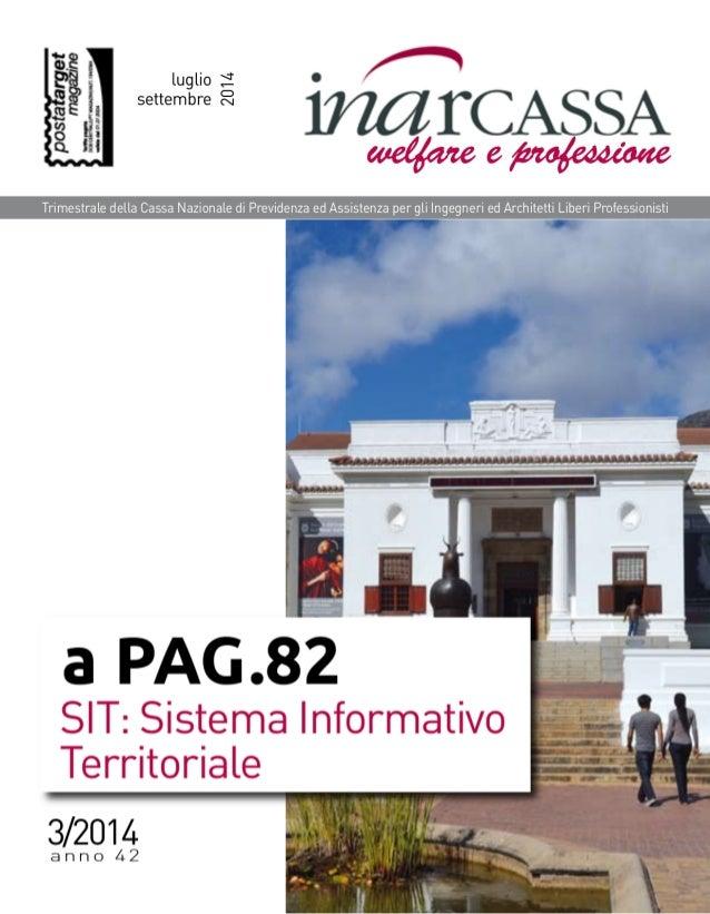 """luglio è?  o h  """" 171611' CASSA aaefjozrze e   Trimestrale della Cassa Nazionale di Previdenza ed Assistenza per gli Ingeg..."""