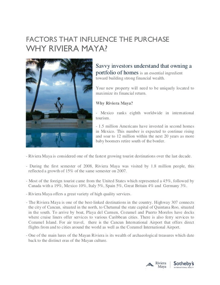 factors that influence buyer decision for property When in doubt, disclose in general, sellers should disclose any known facts about the physical condition of the property, existence of dangerous materials or conditions, lawsuits or pending matters that may affect the value of the property, and any other factors that may influence a buyer's decision.