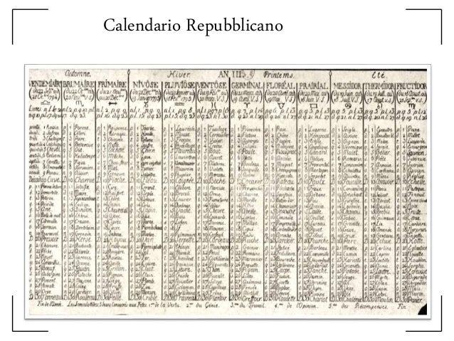 Terzo Mese Del Calendario Rivoluzionario Francese.Rivoluzione Francese