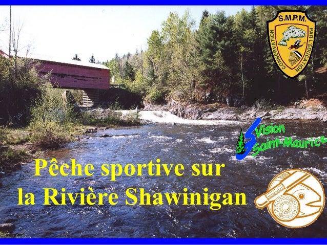 Pêche sportive surla Rivière Shawinigan