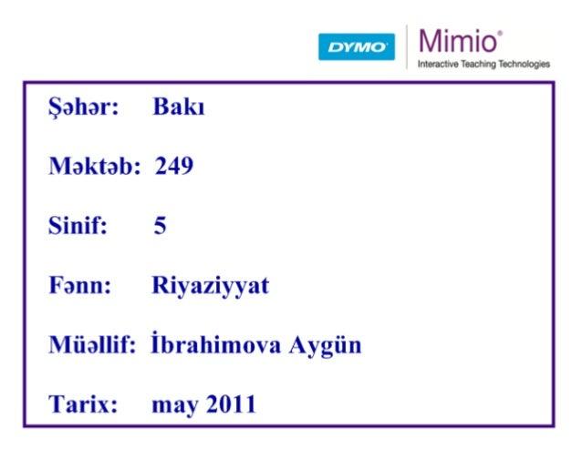 10-a, 5-ə, 2-yə bölünmə əlamətləri