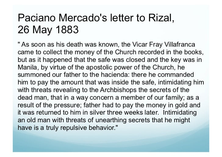 secret of rizals family Rizal's sisters figured largely in his life as much as his brother paciano did segunda katigbak and to maria, he talked about wanting to marry josephine bracken, whom rizal's family apparently disapproved of to support rizal's studies in europe.