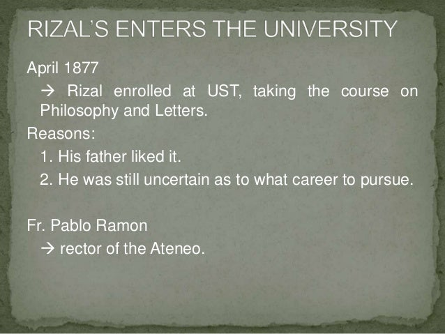 extra curricular activities of rizal at ateneo Welcome to the blackboard e-education platform—designed to enable educational innovations everywhere by connecting people and technology.
