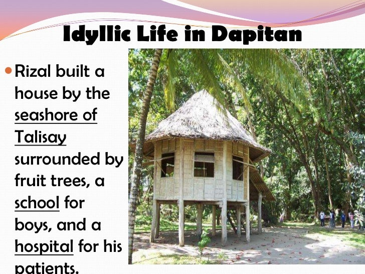 Chapter 22 Exile in Dapitan Essay