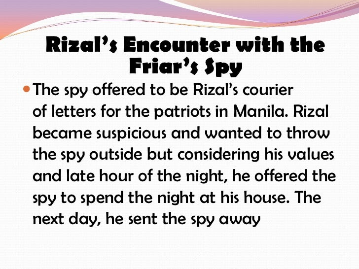 Rizal's Life, Works and Writings Essay