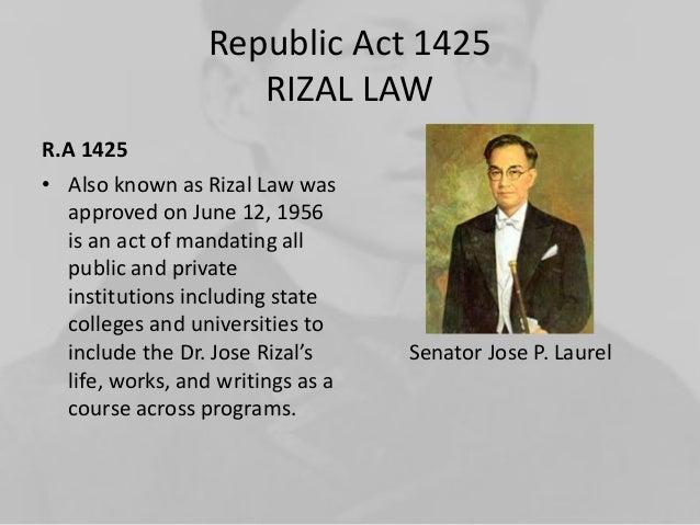 Republic act 1425