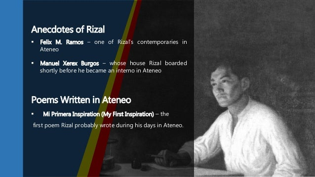 My first inspiration by rizal