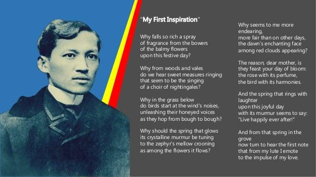 Rizal as Inspiration