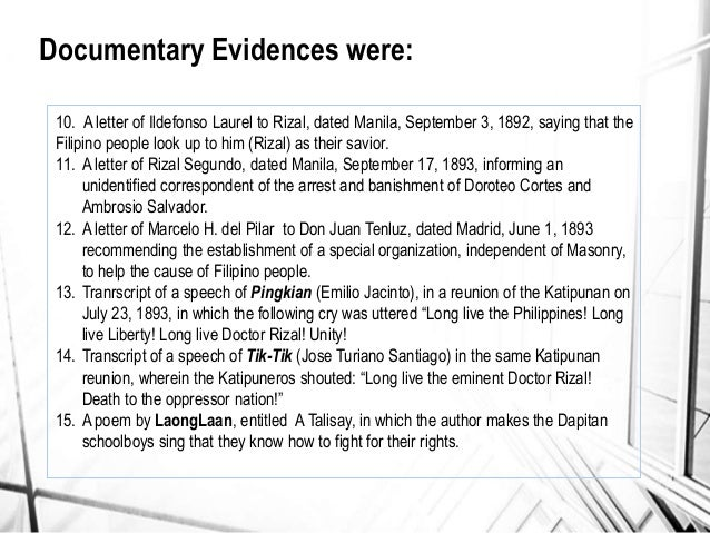 the trial of rizal Note: citations are based on reference standards however, formatting rules can vary widely between applications and fields of interest or study the specific requirements or preferences of your reviewing publisher, classroom teacher, institution or organization should be applied.