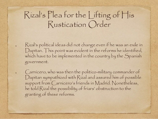 what are rizal revolutionary ideas Rizal was killed (executed) because his formula for true liberation was the one  that was correct, to wit: education of the mind and heart andres.