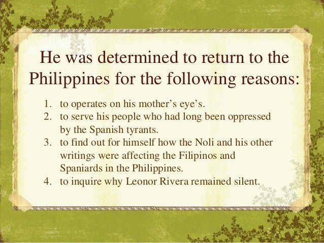 rizal chapter 10 summary