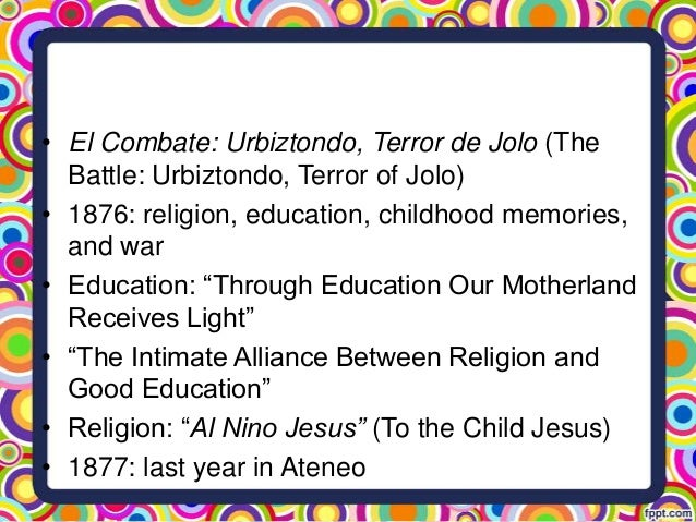 message of rizal in the intimate alliance between religion and work Working alliance (wa) describes the relationship between a client and therapist and the underlying bond formed during the therapeutic process the majority of researchers believe that a strong wa.