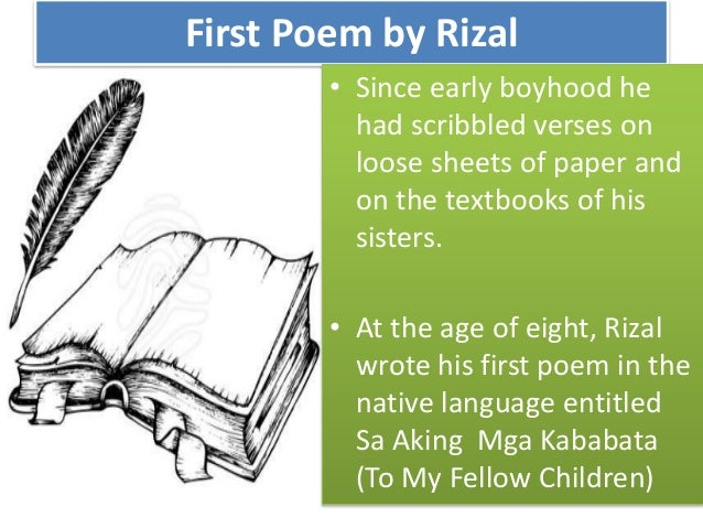 childhood years of rizal in calamba The prologue: rizal and his times 1advent of national hero 2 childhood years in calamba 3early education in calamba and bi ῆan 4  scholastic.