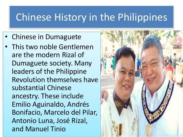 Chinese History in the Philippines • Chinese in Dumaguete • This two noble Gentlemen are the modern Rizal of Dumaguete soc...