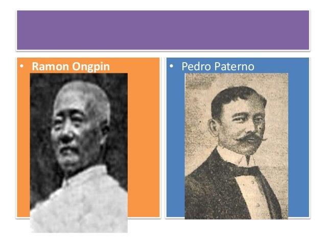 Chinese Mestizo during Negros Revolution Don Diego de la Viña
