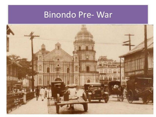 Binondo Pre- War
