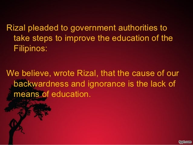 rizal insist on education as the instrument for social progress March 10- rizal april 14 - sta cruz april 21 - san isidro may 12 - cembo kasama ang sped (special education bureau of jail management and penology, and the philippine business for social progress follow my makati on social media facebook: mymakativerified twitter: @mayora_abby.