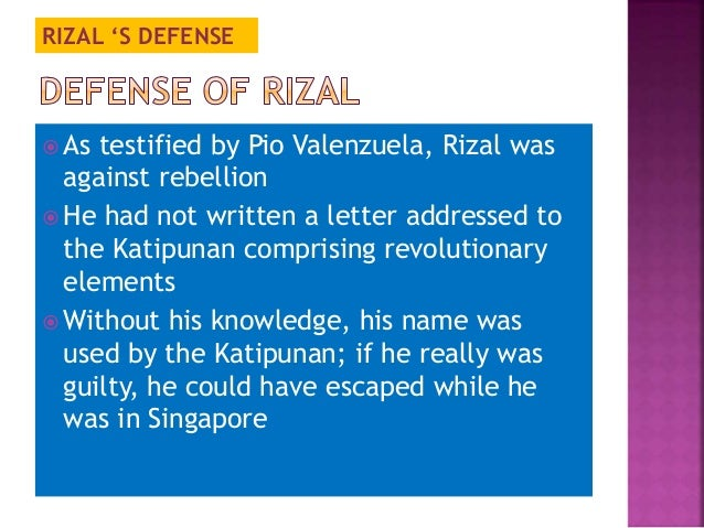 is rizal guilty or not Difference between guilty and no contest the prosecutor must explain what evidence they would have had against you had you pled not guilty and a trial had been set pleading no contest or nolo contendere means you admit no guilt for the crime.