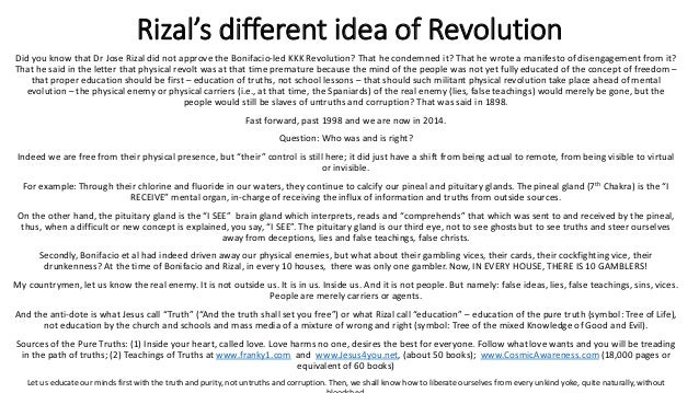 rizal revolutionary ideas Phihis 1: readings in rizal course in english (updated everytime) by xiaochua on january 25, 2015 module 1: rizal law readings rizal's revolutionary ideas and the philippine revolution renato constantino - veneration without understanding.