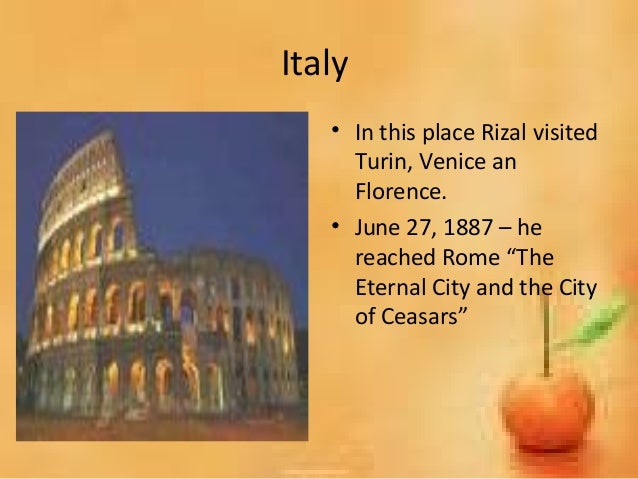 rizals grand tour of europe with maximo viola essay Rizals grand tour of europe with maximo essay rizals grand tour of europe  with maximo viola (1887) after the publication of noli, rizal.