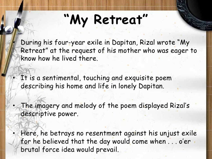 'My Last Farewell' by Jose Rizal