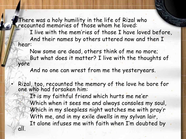 Rizals Intellectual Legacy In Selected Poems 2