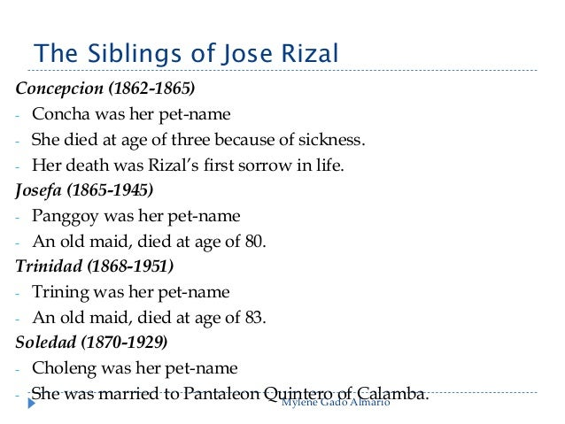 rizals sisa Jose rizal's philosophies in life philosophy may be defined as the study and pursuit of facts which deal with the ultimate reality or causes of things as.