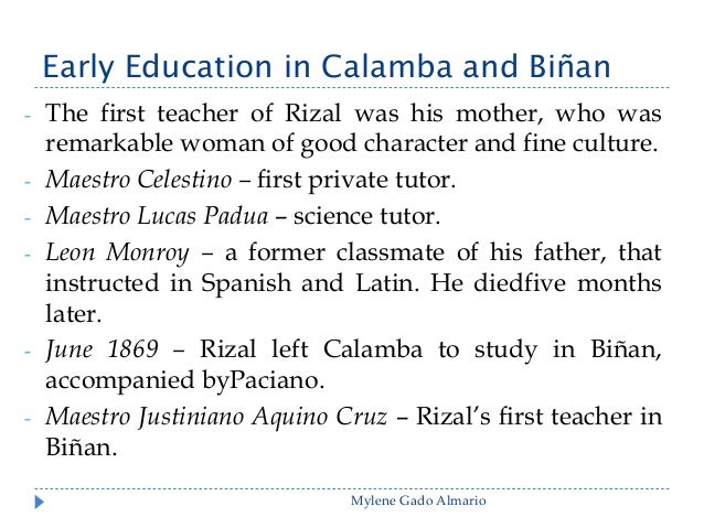 Early Education in Calamba and Binan - Part 2