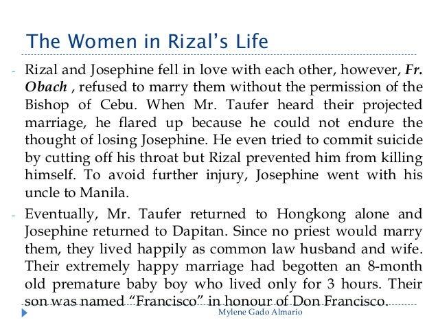 Rizal's Life