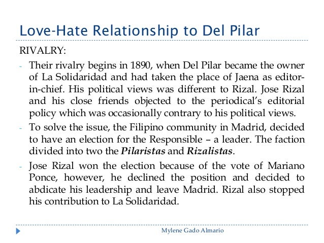 love of country essay by rizal Free essays on my home essay by jose rizal get help with your writing 1 through 30.