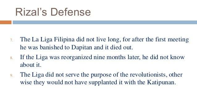 relationship of rizal with katipunan and la liga filipina