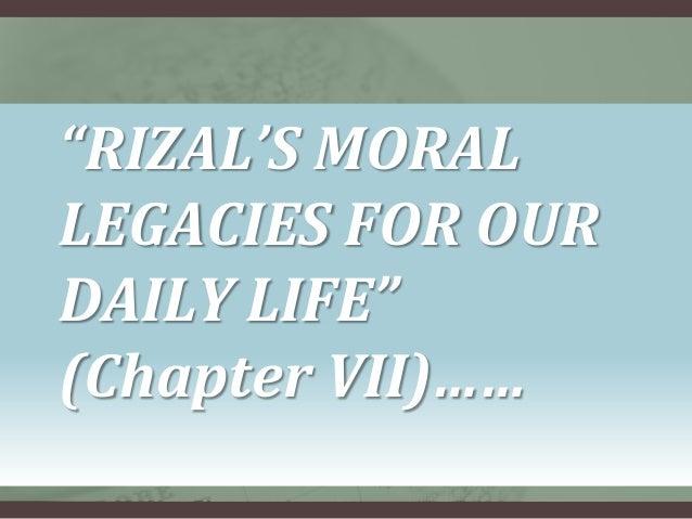 educational legacies of rizal Chapter viii rizal's educational legacies for today's society.