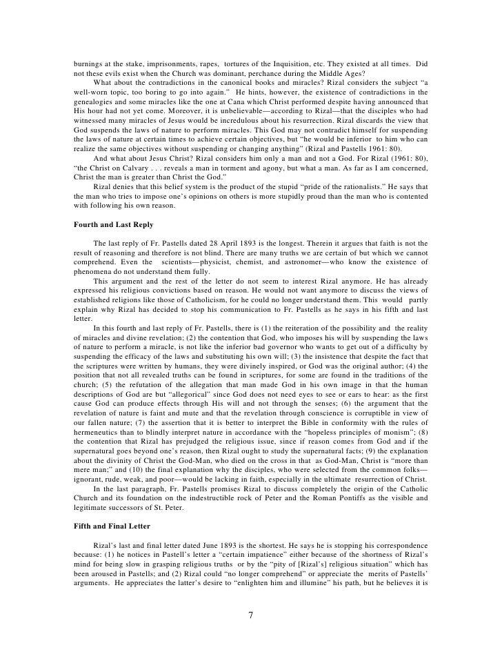 rizal as a deist O scribd é o maior site social de leitura e publicação do mundo.