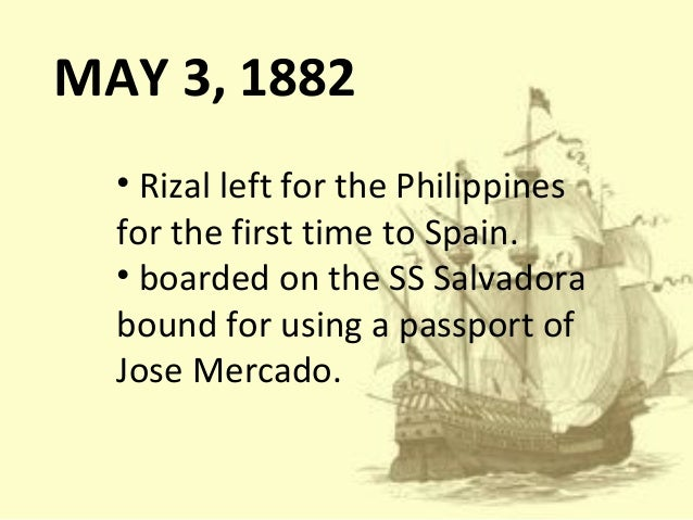 rizal secret mission Rizal in ust & his travel abroad after finishing the 4 th year medical course in ust, rizal decided to go abroad to fulfill his secret mission secret mission: to observed keenly the life & culture, language & customs, industries & commerce.
