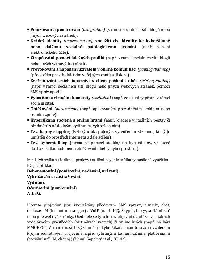 seznamky s popisy stránek