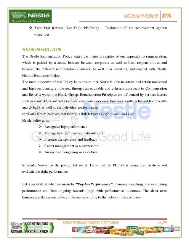 report on nestle pakistan Nestlé annual report 2013 - page 167 indonesia p t nestlé indofood citarasa indonesia 1) jakarta 50% idr 200 000 000 000 nestlé pakistan ltd.
