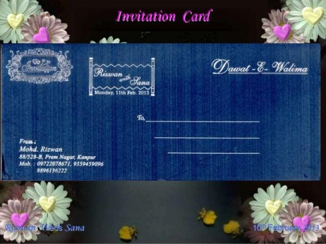 Rizwan wedding invitation 100213ppt invitation cardrizwan stopboris Image collections