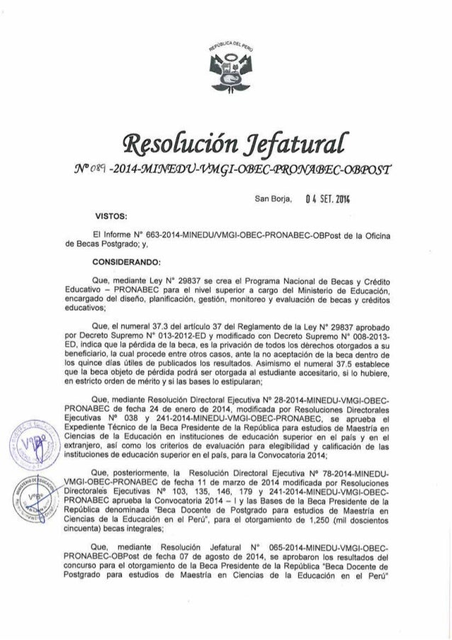 Resofucíón Jqfaturaf  gvvosq ¿ou-Mmov-mgI-oaaficmpwflmasc-orseosï  San Borja.  lll SEI.  21m VISTOS:   El Informe N' 663-201...