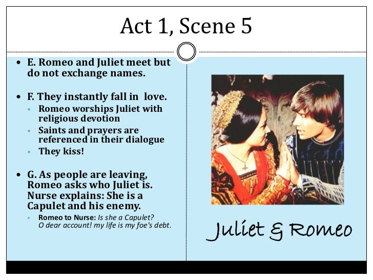 romeo and juliet act 1 scene 5 essay questions Romeo and juliet essay questions buy study guide 1 after the prologue until the point where mercutio dies in act iii, romeo and juliet is mostly a comic romance after mercutio dies, the nature of the play suddenly shifts into tragedy.