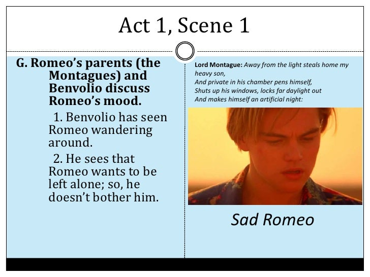 brief outline of romeo and juliet