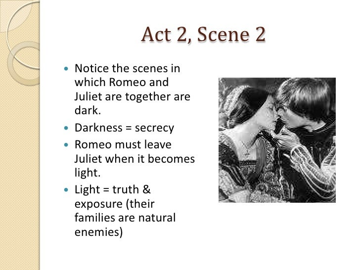 romeo and juliet act 2 scene 2 coursework