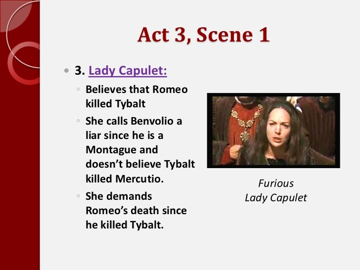describe lord and lady capulet relationship