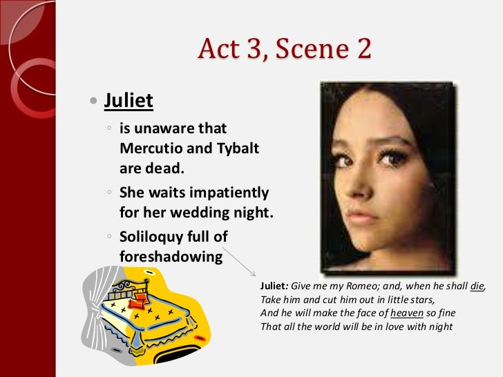 antithesis in romeo and juliet act 3 scene 1 A primary example of foreshadowing in william shakespeare's play romeo and juliet occurs in act 1, scene  what are examples of foreshadowing in the.