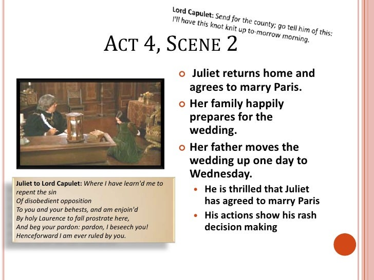 romeo and juliet act summary notes